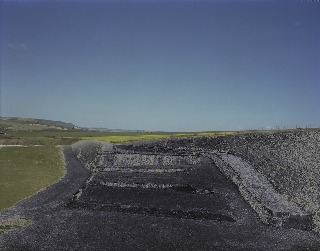 Tarring Neville Chalk Quarry, Sussex, C-Type Hand Printed 40 x 31in / 102 x 79 cm (Edition of 30)